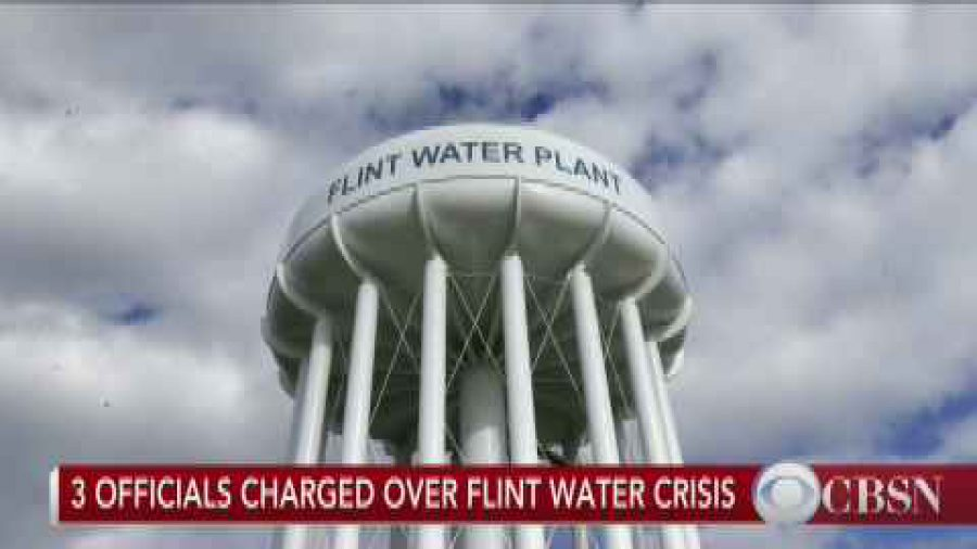 Water Face Splashing in Flint is Not Normal