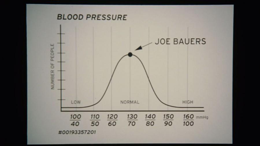 Joe Bauers has Remarkably Normal Blood Pressure