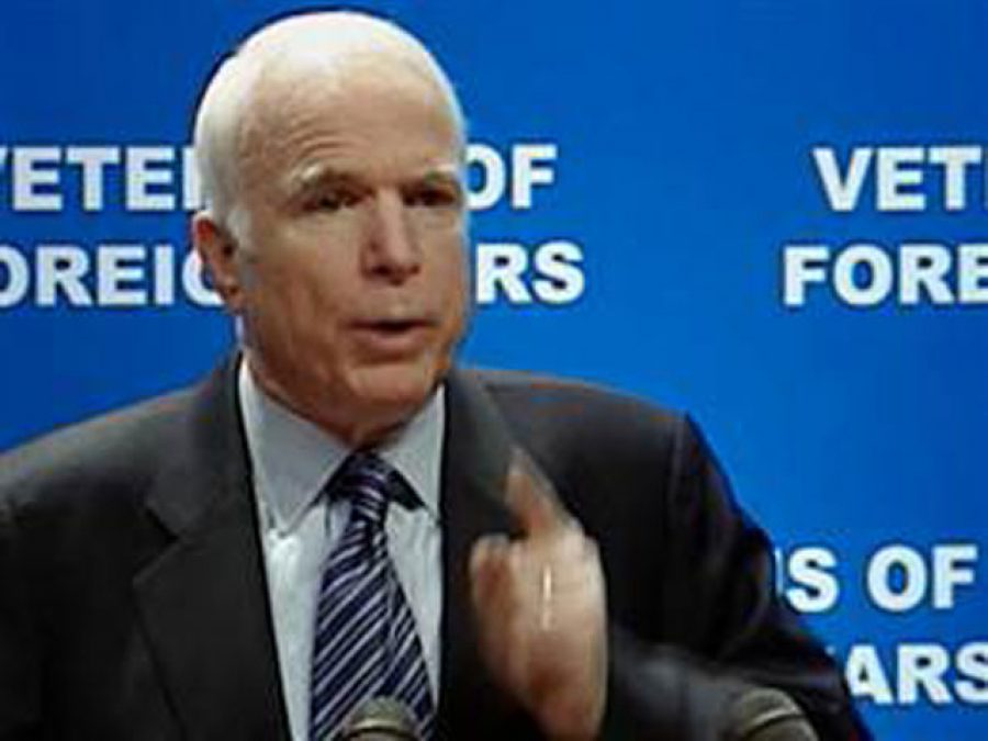 Senator John McCain on Iraqi Normal Life