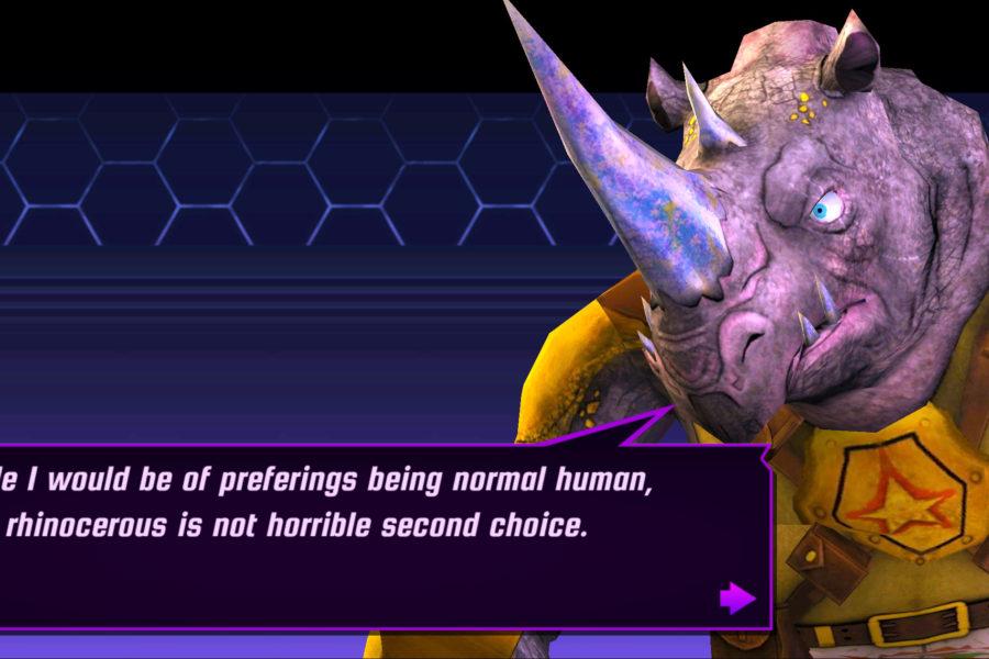 normal human vs rhinocerous