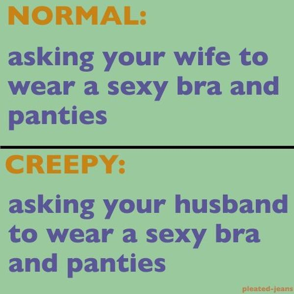 Normal vs. Creepy