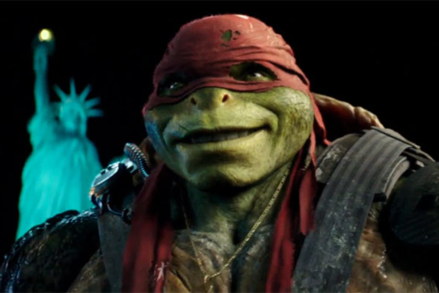 for Mutant Turtles, the struggle to be normal or not to be normal