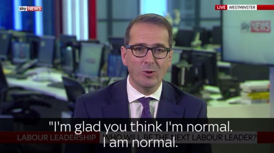 "When Being ""Normal"" is a Political Asset – or is it?"