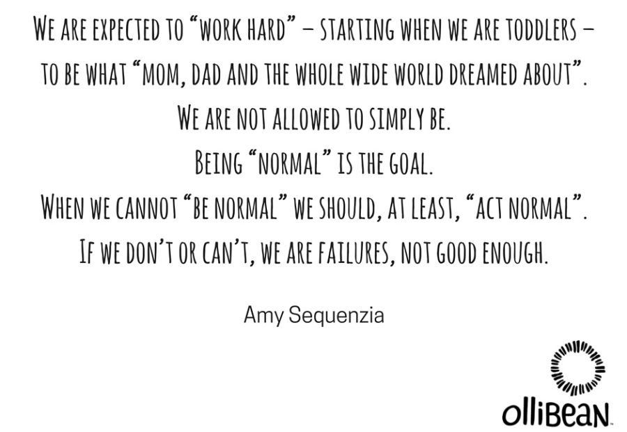 """""""I am not normal,"""" says Amy Sequenzia"""